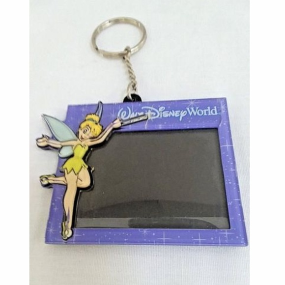 Disney Accessories | Keychain Tinkerbell 3d With Picture Frame ...